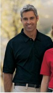 Men's Honeycomb Moisture Guard Polo