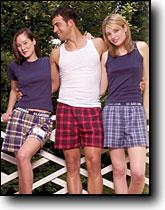 Flannel Boxers