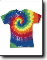 Rainbow Swirl Women\'s Fitted Tee