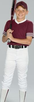 Youth Belted Baseball Pant