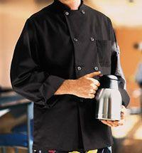 Black Traditional Chef Coat