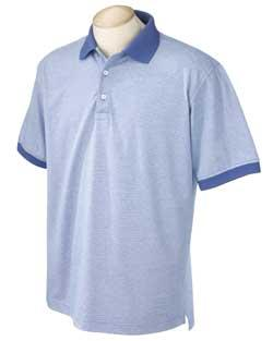 Men's Microstripe Performance Plus Polo
