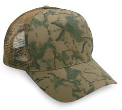 Mesh Back Camouflage Cap