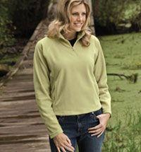 Ladies' Microfleece 1/4 Zip Pullover