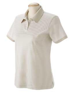 Ladies Northport Stripe Jersey Polo