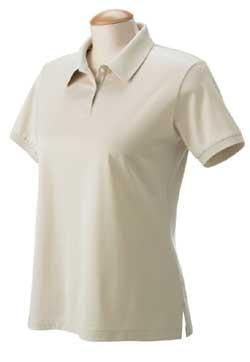 Ladies Malvern Jersey Solid Polo