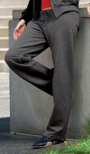 Ladies Straight Leg Fleece Pant