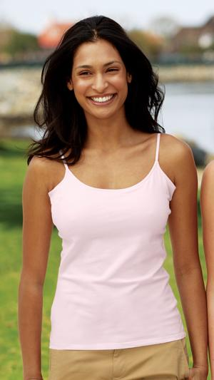 Ladies Tank with Built-in-Bra