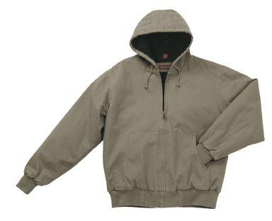 Cheyenne Men's Hooded Canvas Jacket