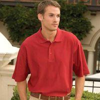 Links Double-Mercerized Cotton Herringbone Sport Shirt
