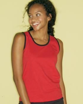 LADIES Ringer Tank Top