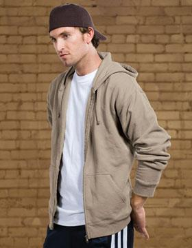 Men's Full Zip Enzyme Washed Hood