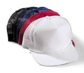 Poplin With Mesh Back Cap