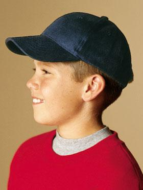 YOUTH Solid Brushed Twill Cap