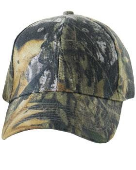 Camouflage Six Panel Hat