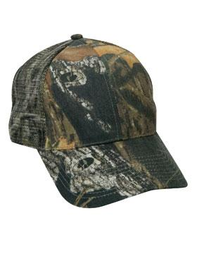 Mossy Oak Break Up 6-Panel Mesh Back Structured Cap