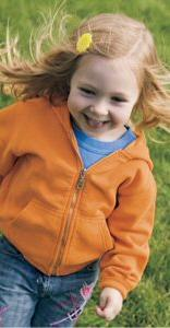 Toddler Pigment Dyed Full Zip Hooded Sweatshirt