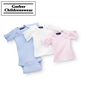 GERBER INFANT LAP SHIRT