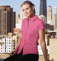 Ladies' Ashika DryFlex Button Down Camp Shirt