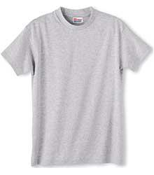 Heavyweight Cotton Short-Sleeve Youth T-Shirt