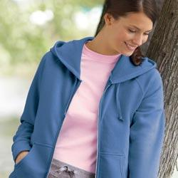 Ladies Fleece Full-Zip Hoodie