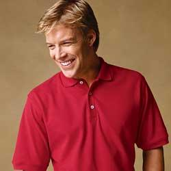Men's Cotton Pique Short-Sleeve Polo