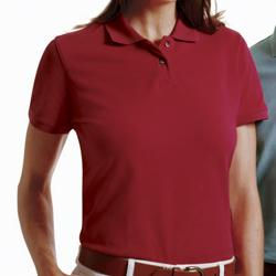 Ladies' 6 oz Cotton Pique Short-Sleeve Polo