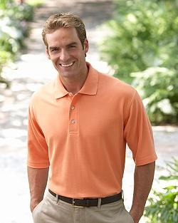 Men's Short Sleeve Pima Pique Polo