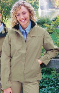Ladies' Sueded Microfiber Jacket