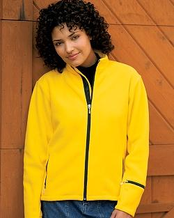 Ladies' Sueded Microfleece Jacket