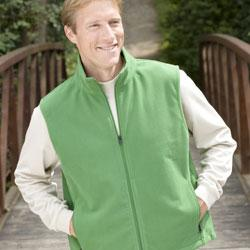 Booth Bay Soft Shell Full-Zip Fleece Vest