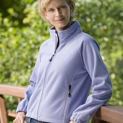 Ladies' Booth Bay Soft Shell Fleece Jacket