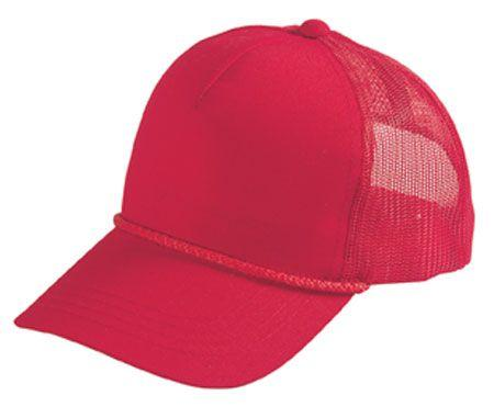 Poplin Summer Mesh Cap - High Crown