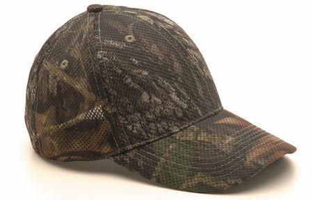 Stretch to fit Mesh Mossy Oak Cap