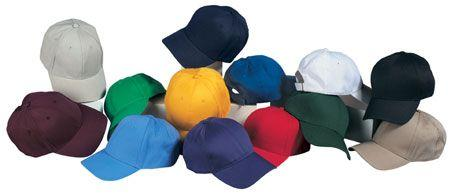 6-Panel Low Profile Twill Cap