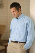 Men's Long Sleeve EASY CARE Oxford