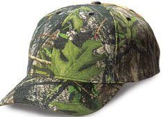 Structured Mid-Profile Mossy Oak Obsession Camouflage Caps