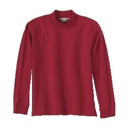 Men's Fundamentals Long Sleeve Stretch Mock