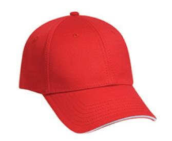 Deluxe Cotton Twill Sandwich Visor Otto Flex Low Profile Pro Style Caps (LXL)