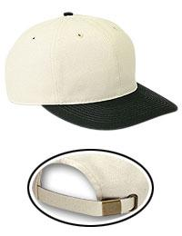 Natural Cotton Twill Low Profile Pro Style Caps