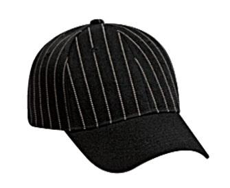 Pin Striped Alternative Wool Blend Low Profile Pro Style Caps
