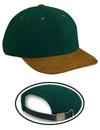 Melton Wool Blend Suede Visor Low Profile Pro Style Caps