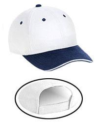 Superior Brushed Cotton Twill Sandwich Visor Low Profile Pro Style Caps