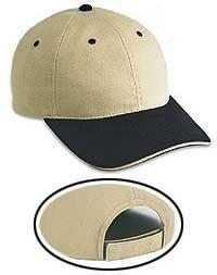 Brushed Cotton Twill Sandwich Visor Low Profile Pro Style Caps