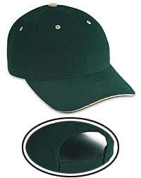 Cotton Twill Sandwich Visor Low Profile Pro Style Caps