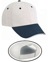 Microfiber Polyester Suede Sandwich Visor Low Profile Pro Style Caps