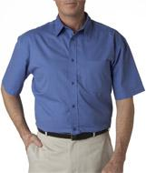 Adult Whisper Twill Short-Sleeve Shirt