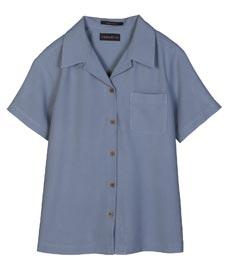 Ladies' Cabana Breeze Herringbone Washable Silk Camp Shirt