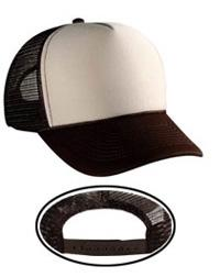 Polyester Foam Front Five Panel Pro Style Mesh Back Caps