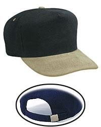 Brushed Bull Denim Low Crown Golf Style Caps